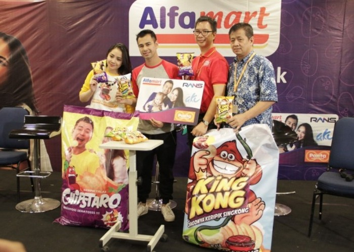 Dongkrak Penjualan, Alfamart Pasarkan Produk Eksklusif Raffi Nagita
