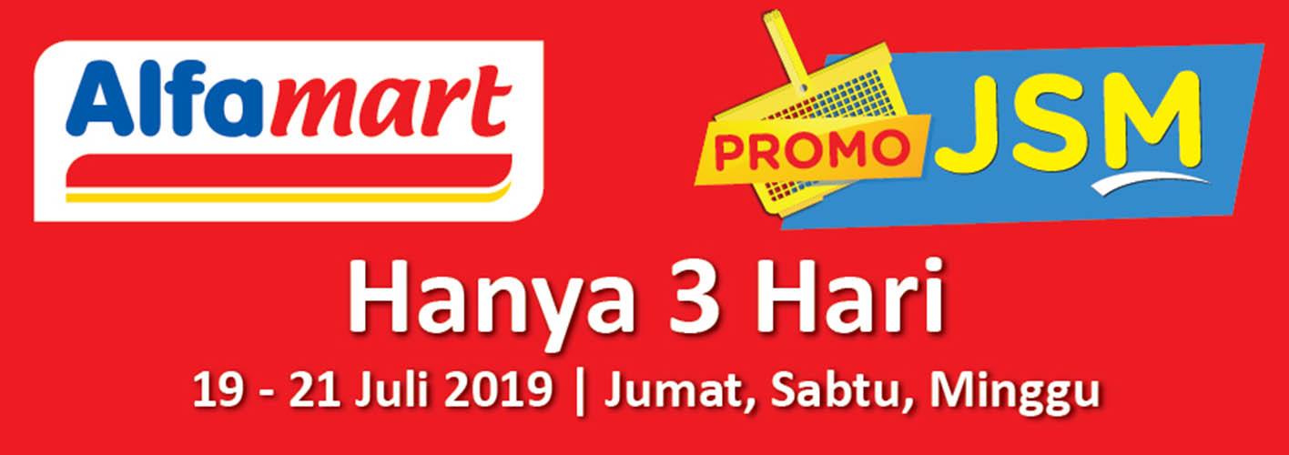 Promo JSM Alfamart 19-21 Juli 2019