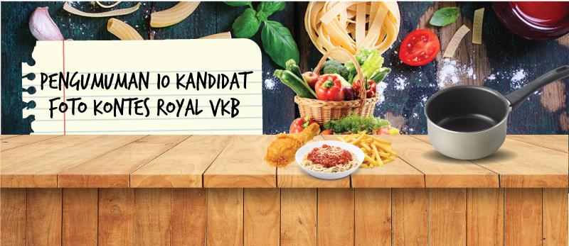 Pengumuman 10 Kandidat Pemenang Foto Kontes Royal VKB