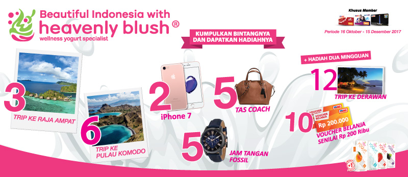 Pengumuman Pemenang Heavenly Blush