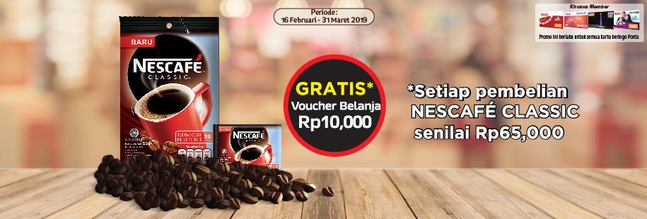 Nescafe 31 Maret 2019