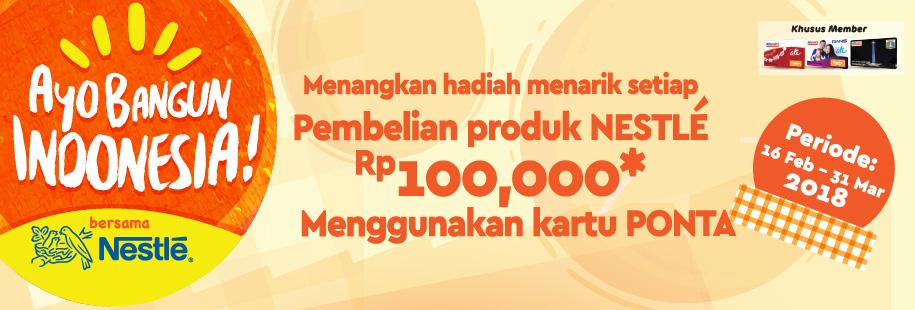 Nestle Ayo Bangun Indonesia
