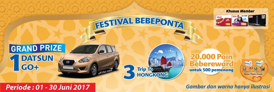 Bebeponta Festival hadiah Mobil Datsun