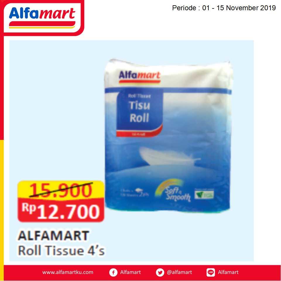 ALFAMART Roll Tissue 4's