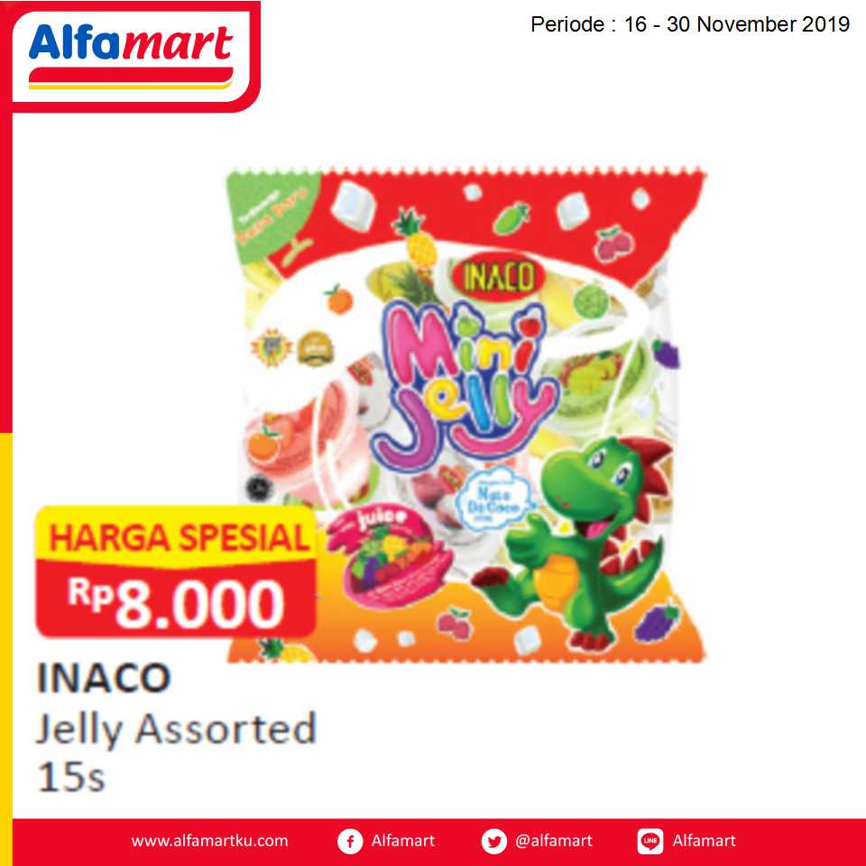 Inaco Jelly Assorted 15s