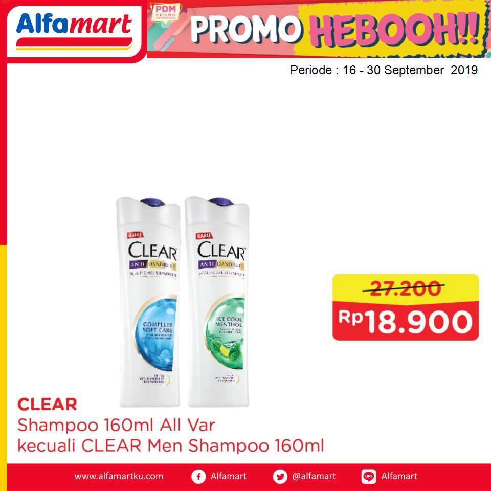CLEAR SHAMPOO 160ml All Var
