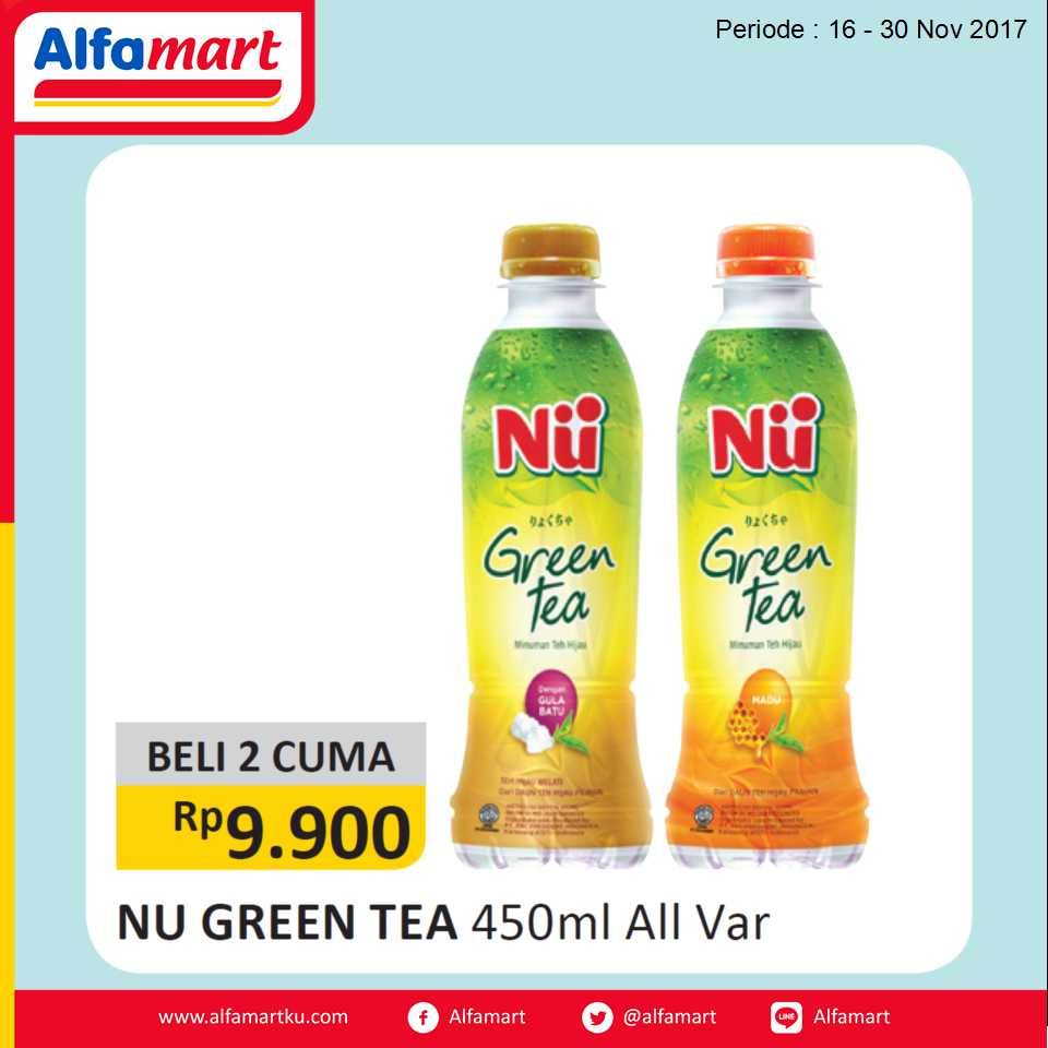 NU Green Tea 222017