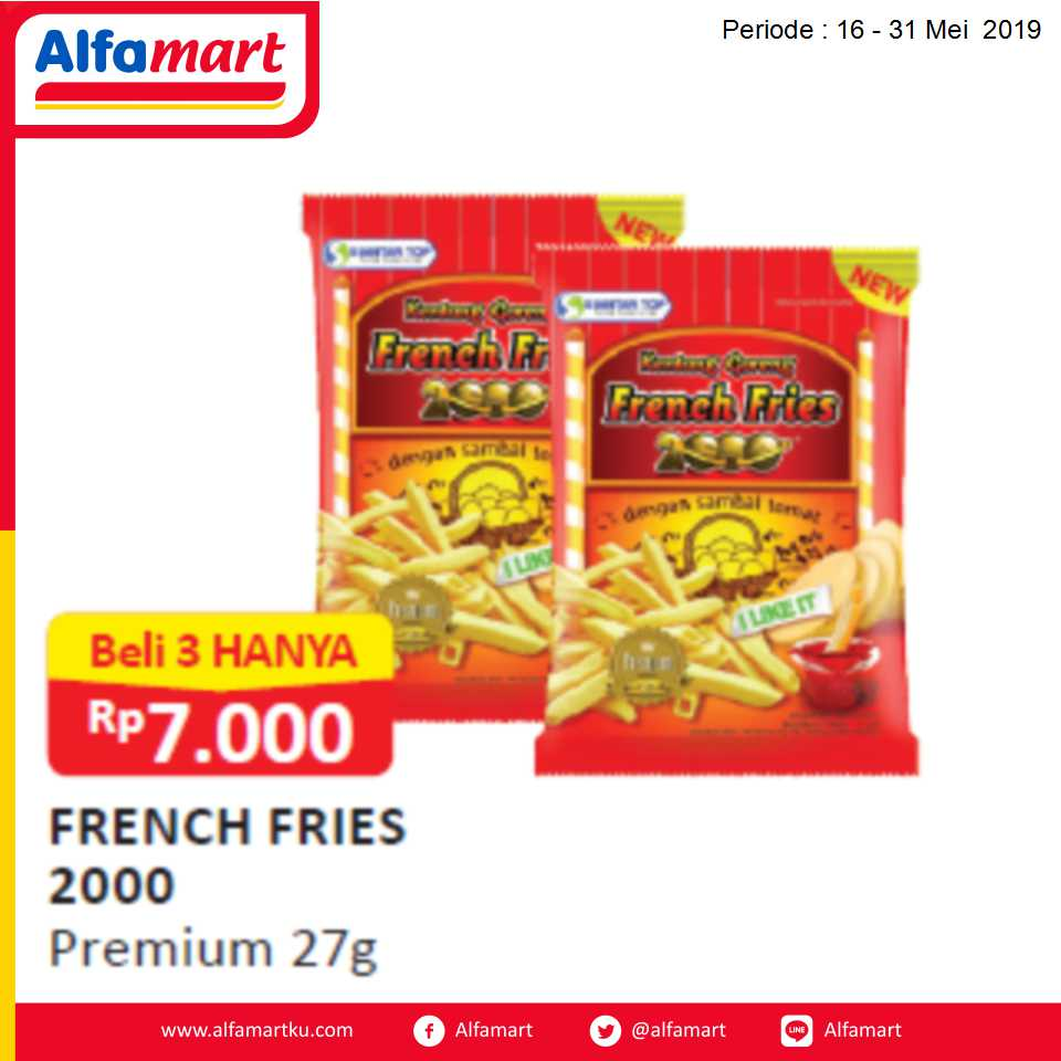 FRENCH FRIES 2000 PREMIUM 27G