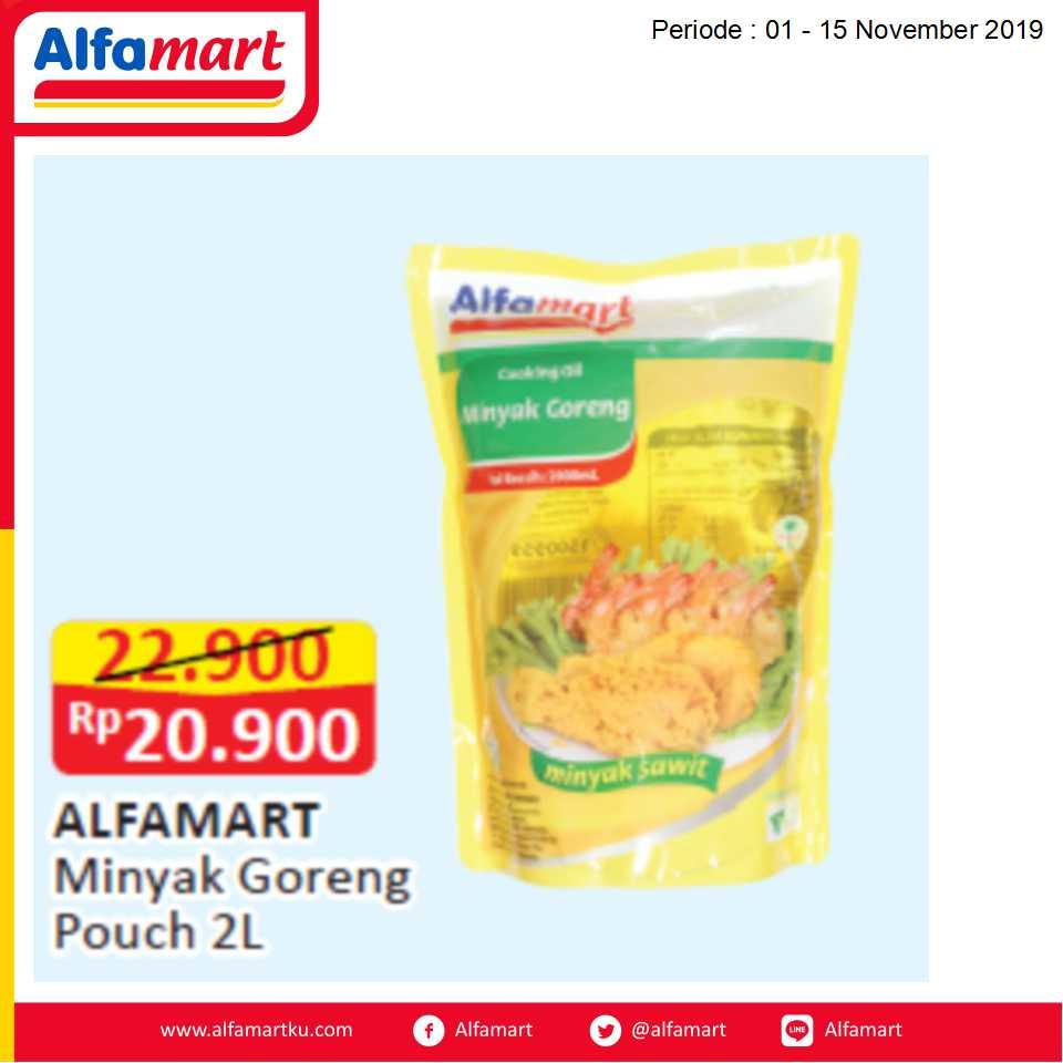 ALFAMART Minyak Goreng Pouch 2L