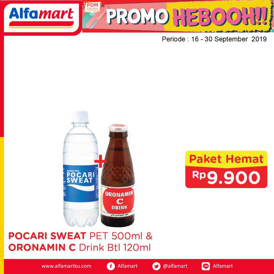 POCARI SWEAT PET 50ml & ORONAMIN C btl 120ml
