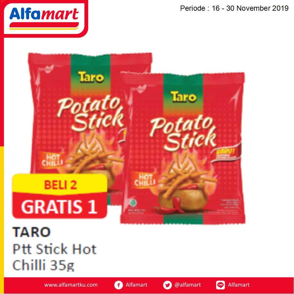 BELI 2 GRATIS 1 Taro Ptt Stick Hot Chilli 35g