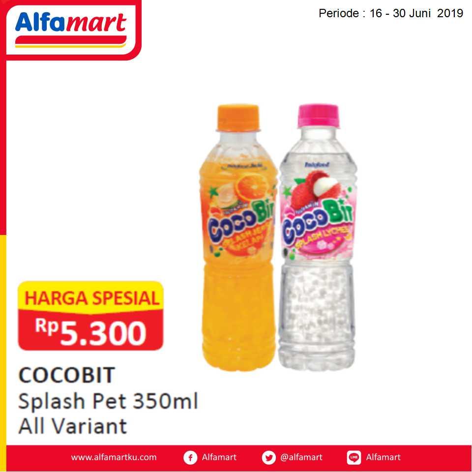 COCOBIT SPLASH  PET 350ML