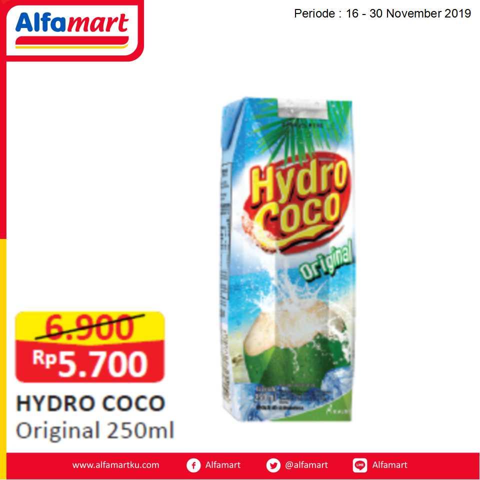 Hydro Coco Original PET 250ml