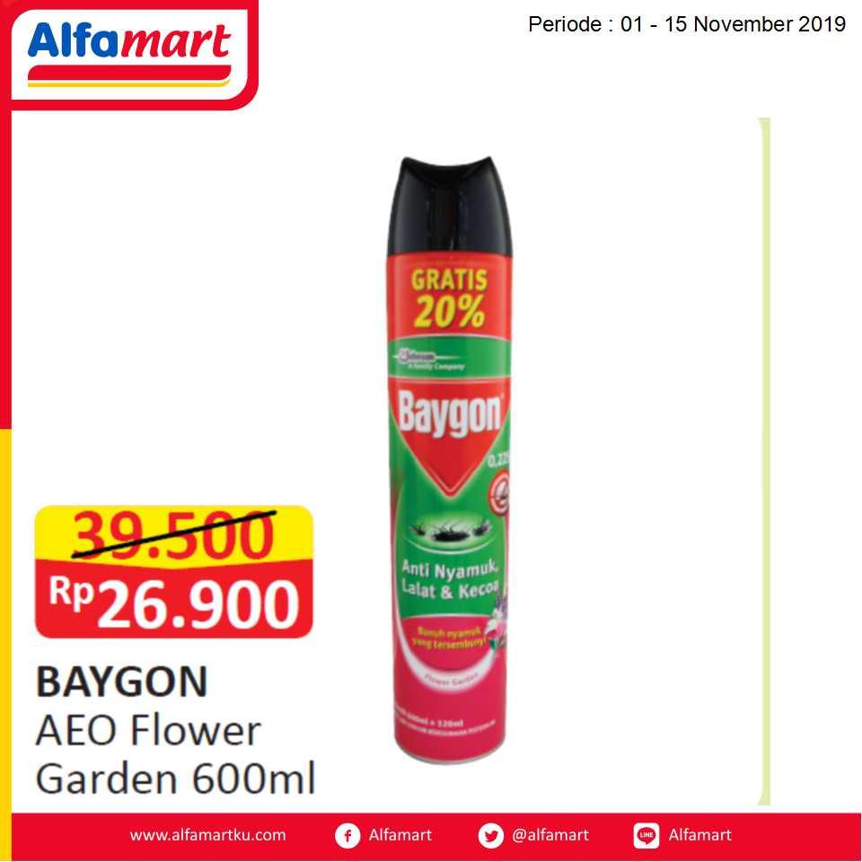 Baygon AEO Flower Garden 600ml